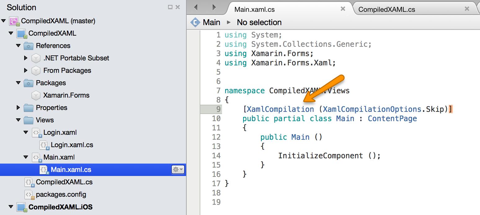 xamlcompilationclass