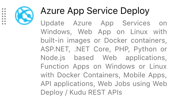 How to use Azure Function with Run From Package